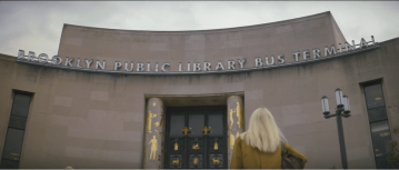 "Brooklyn Public Library Bus Terminal in ""Windmills"" (S01E02). CREDIT: Netflix"