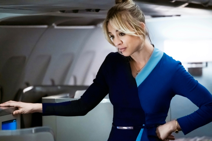 Kaley Cuoco stars as Cassie Bowden in The Flight Attendant.